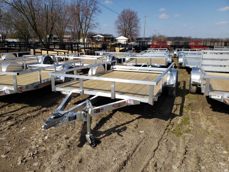 New 82X12 Aluminum Landscape Trailer
