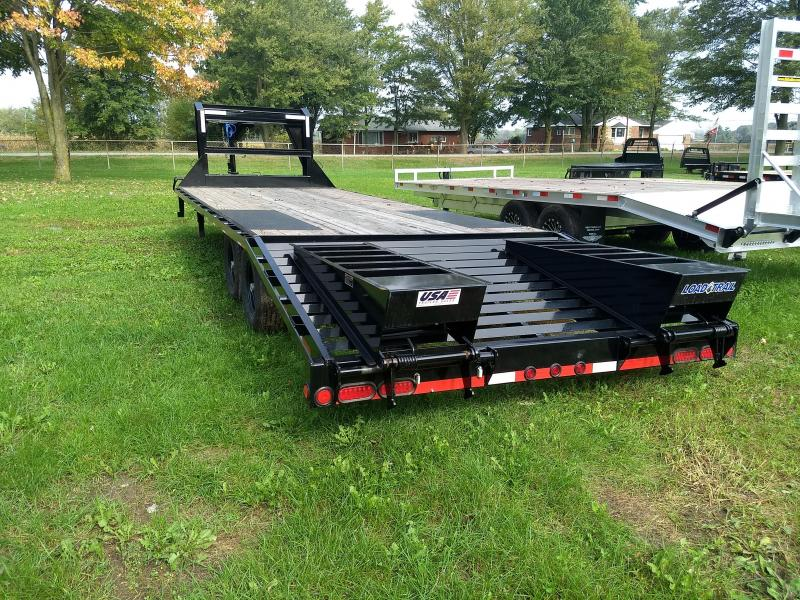 25' 14K Load Trail Gooseneck Equipment Trailer Michigan's #1 Selling Brand Of Trailers