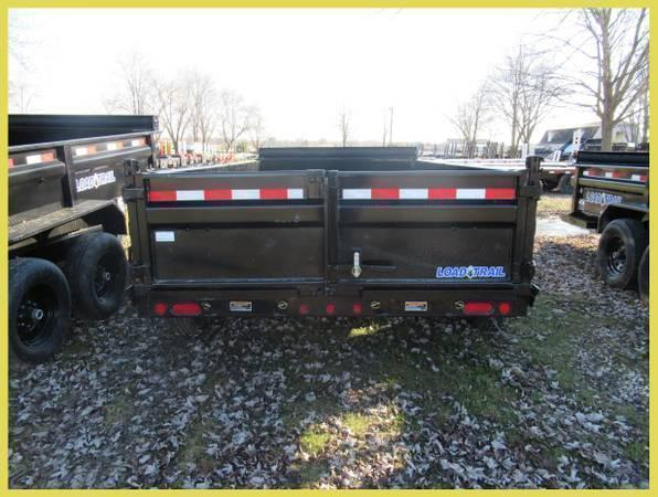 """Load Trail 83"""" X 14' 14K Dump Trailer Deluxe Model"""