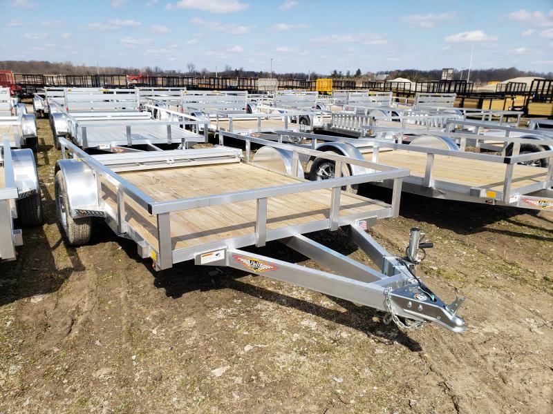 New 76x10 H&H Aluminum Landscape Trailer