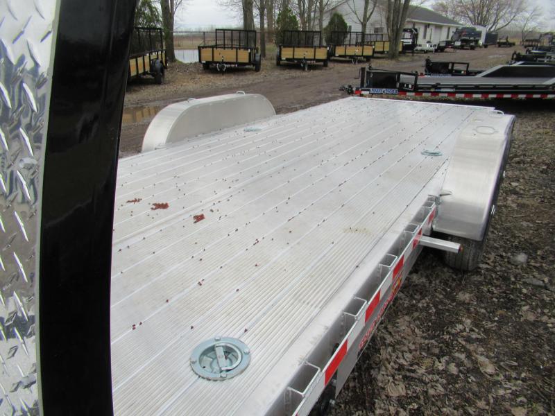 2020 H and H Trailer New H&H 20' 14k Tilt Bed Car Hauler Car / Racing Trailer
