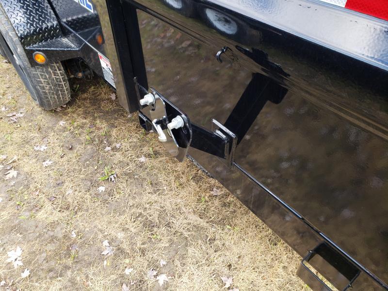Load Trail 83X16 Dump Deluxe Model W/ Drop Axles