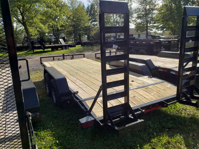 New 18' 10K Load Trail Equipment Trailer W/Rub Rail