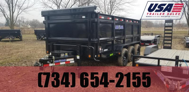 "2020 Load Trail 83x16 Dump W/48"" Sides"