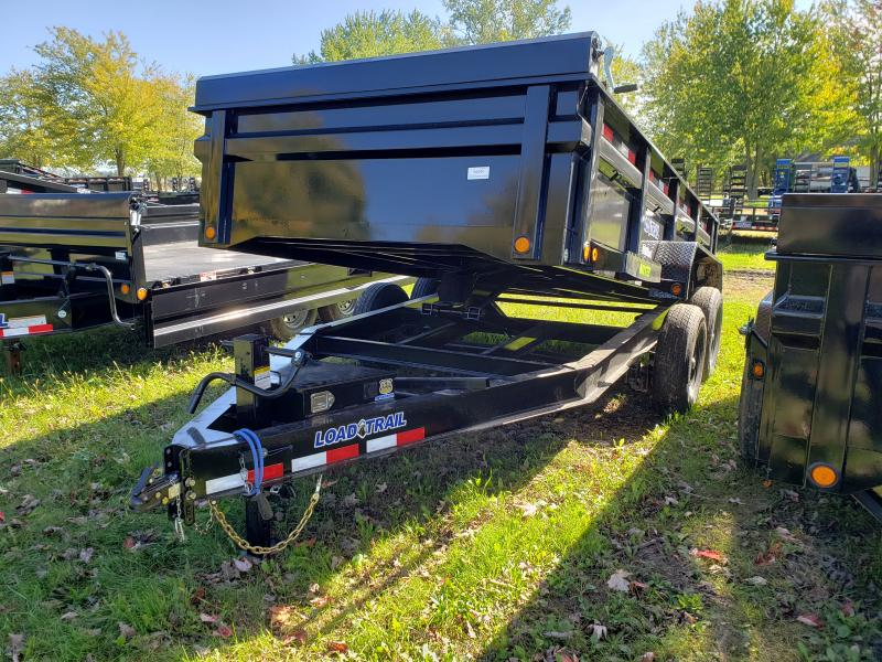 Load Trail 83X14 Dump Deluxe Model W/ Drop Axles