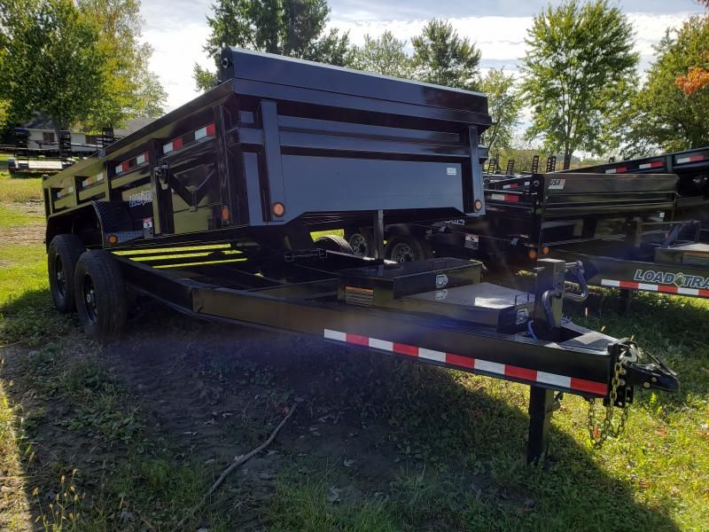 Load Trail 83X14 14K Dump Trailer Loaded Check It Out!!