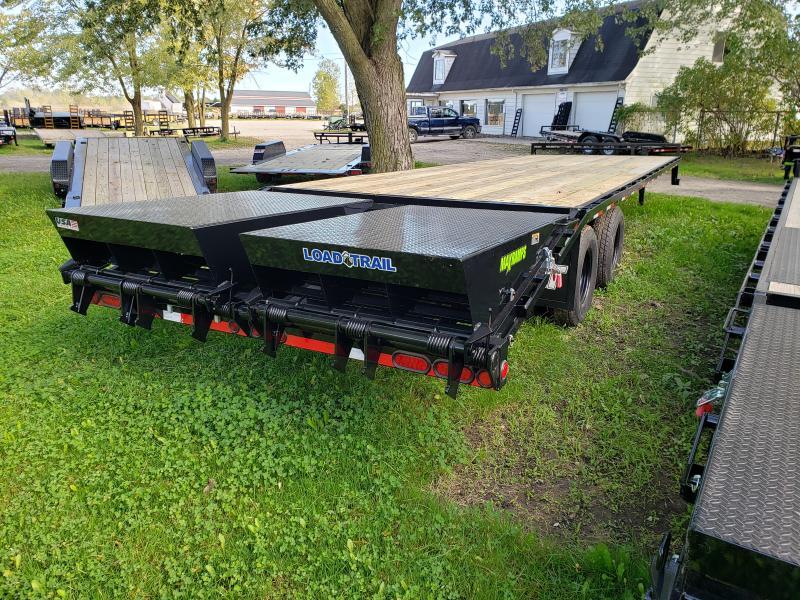 2019 Load Trail 30 Deckover Equipment Trailer W/ Max Ramps Equipment Trailer