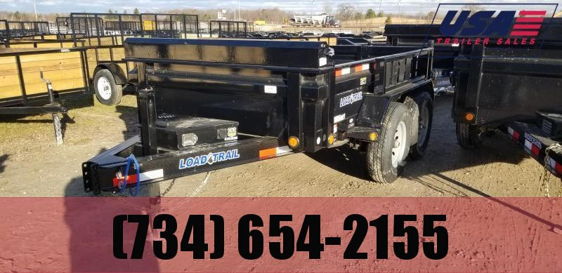 New 6x10 10K Load Trail Dump Trailer