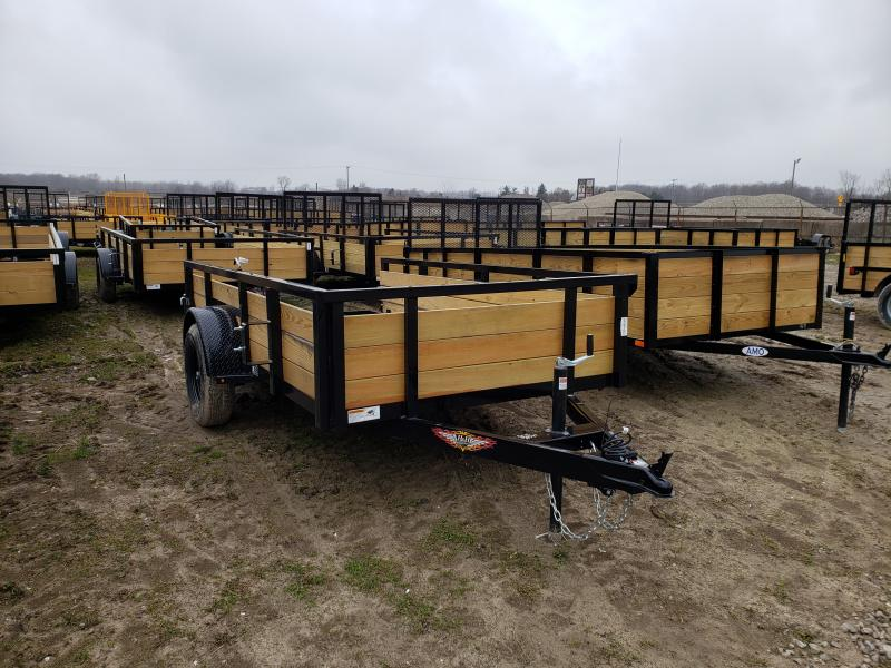 NEW 5X10 STEEL WOOD SIDE 3.5K LANDSCAPE TRAILER