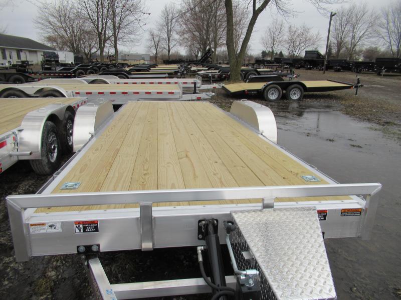 New H&H 20' 14k Tilt Bed Car Hauler Trailer