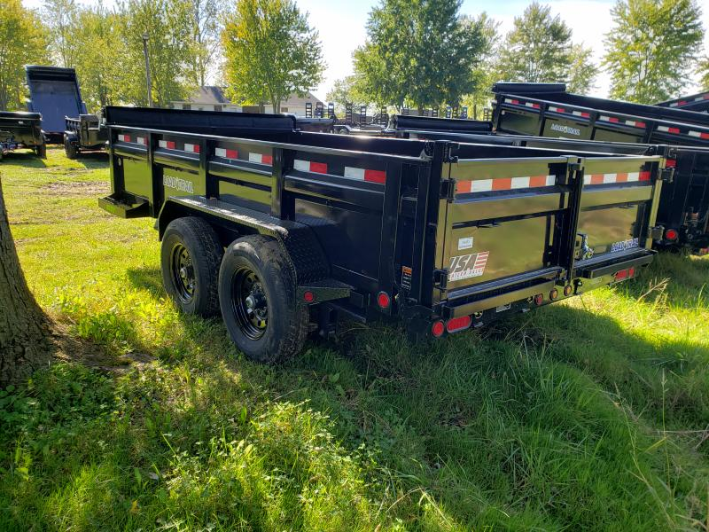 Load Trail 83X14 14K Dump Deluxe Model W/ Drop Axles
