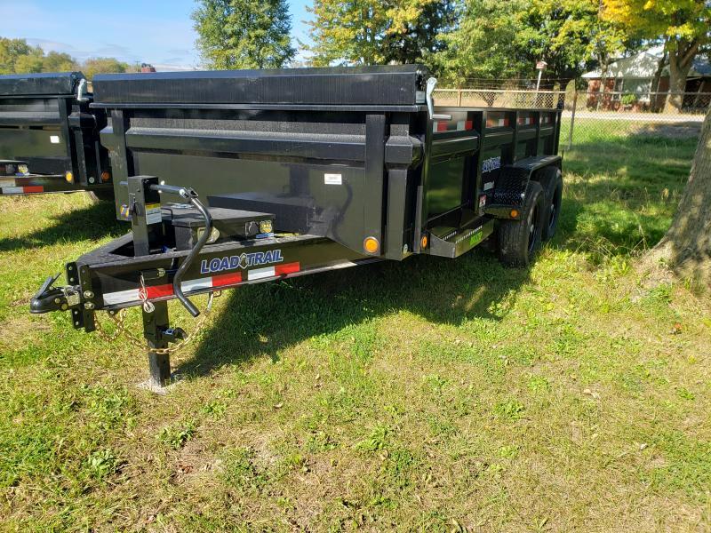 Load Trail 83X14 Dump Deluxe Model W/ Drop Axles