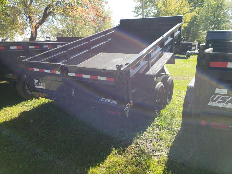 Load Trail 83X14 14K Dump Trailer Loaded Check It Out !!!