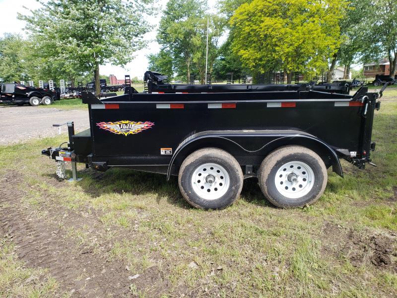 New 76X10 Utility Dump Trailer 10K