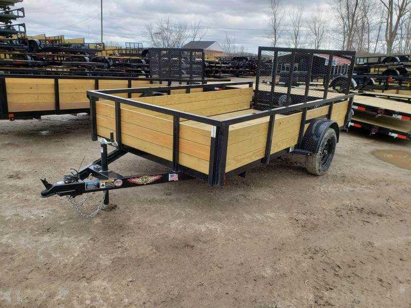 NEW 76X12 STEEL WOOD SIDE 3.5K LANDSCAPE TRAILER
