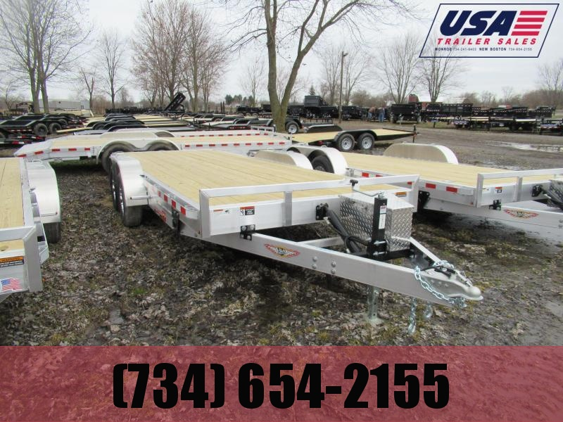 New H&H 20' 10k Tilt Bed Car Hauler Trailer