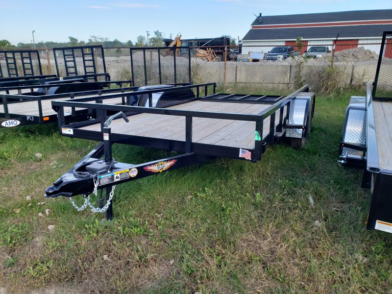 2019 H and H Trailer 8.5X16 STL Landscape Trailer