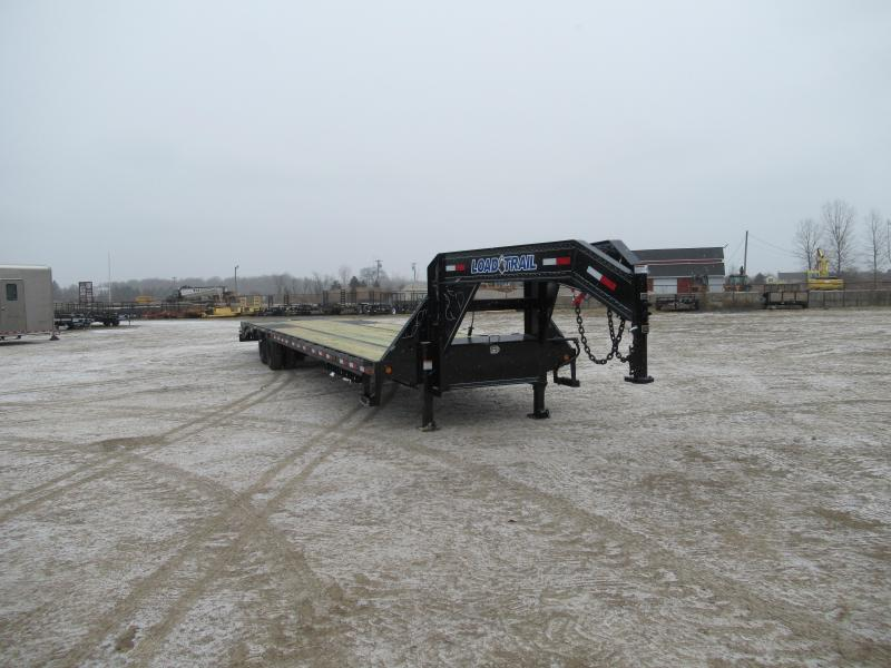 "2019 Load Trail 102"" X 40' Tandem Heavy Duty Goose neck Equipment Trailer"