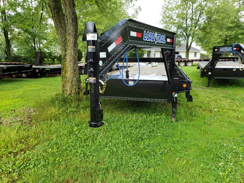 25' Deckover 14K Gooseneck Equipment Trailer Load Trail Michigan's #1 selling brand of trailer