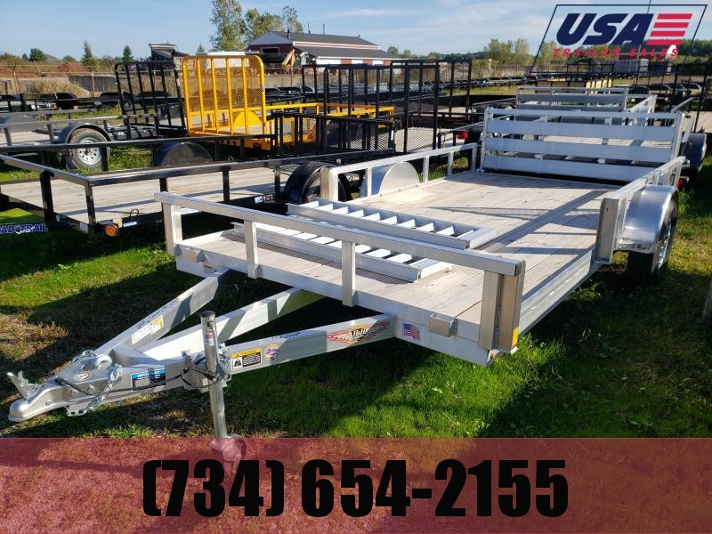 New 6.10x14 Aluminum ATV Trailer