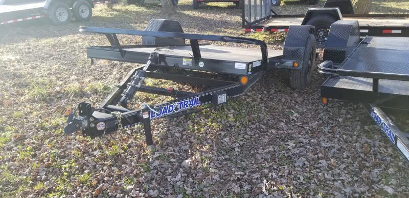 2019 Load Trail 77x12 Scissor Hoist Equipment Trailer