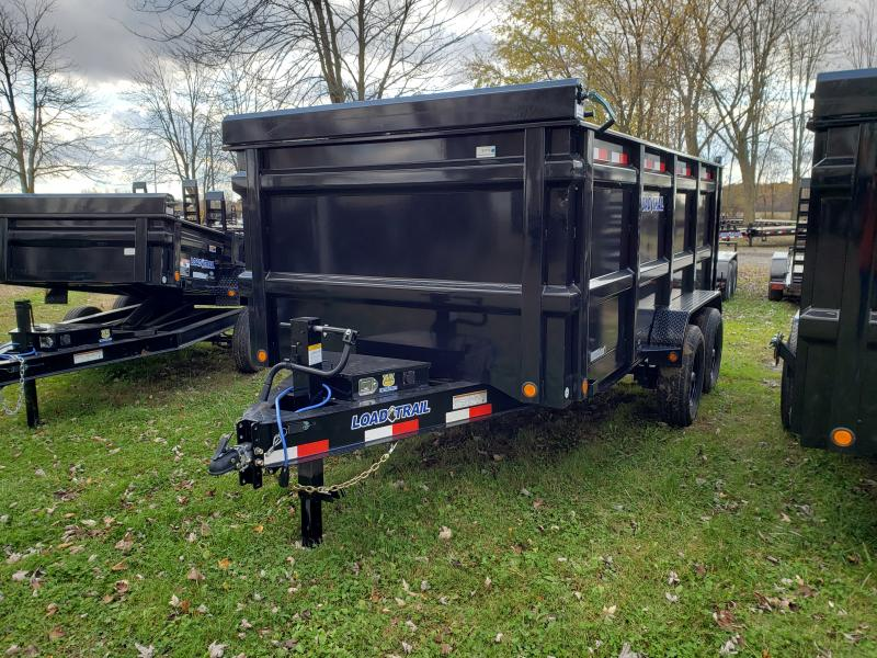 NEW 83X14 14K LOAD TRAIL DUMP W/48 SIDES
