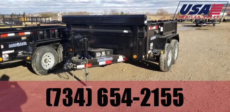 New 83x10 10K Load Trail Dump Trailer