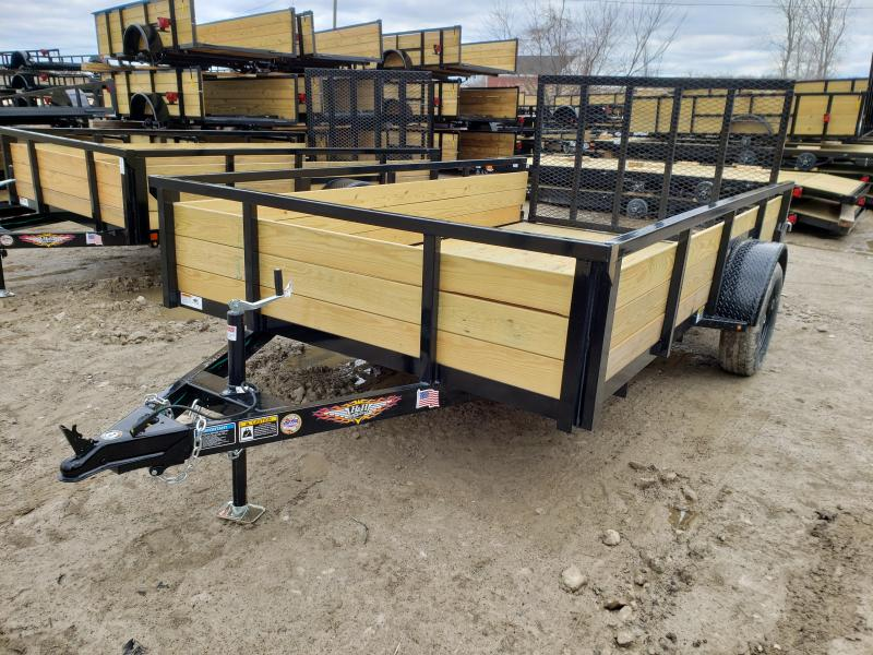 NEW 82X12 STEEL WOOD SIDE 3.5K LANDSCAPE TRAILER