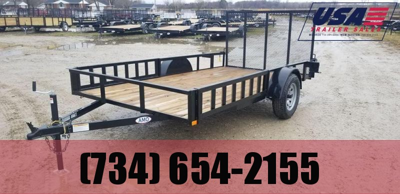 6.4X12 landscape trailer w/side ramp