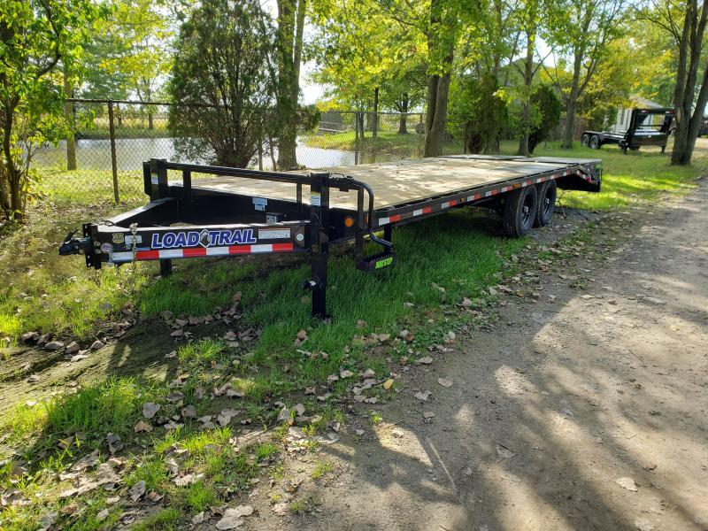 2020 Load Trail 25 10K Deck over Equipment Trailer Equipment Trailer