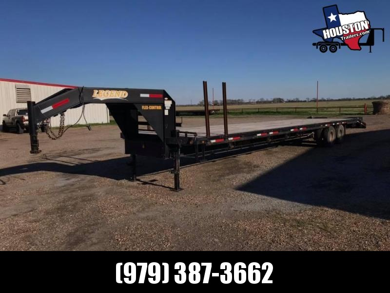 2016 Legend Trailers 40' GN Flatbed 22.5k Flatbed Trailer