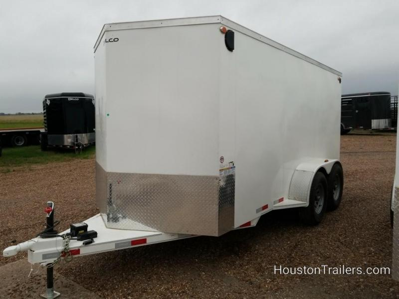 "2020 Delco Trailers 14' x 6'8"" 10K Enclosed Cargo Trailer DEL-99"