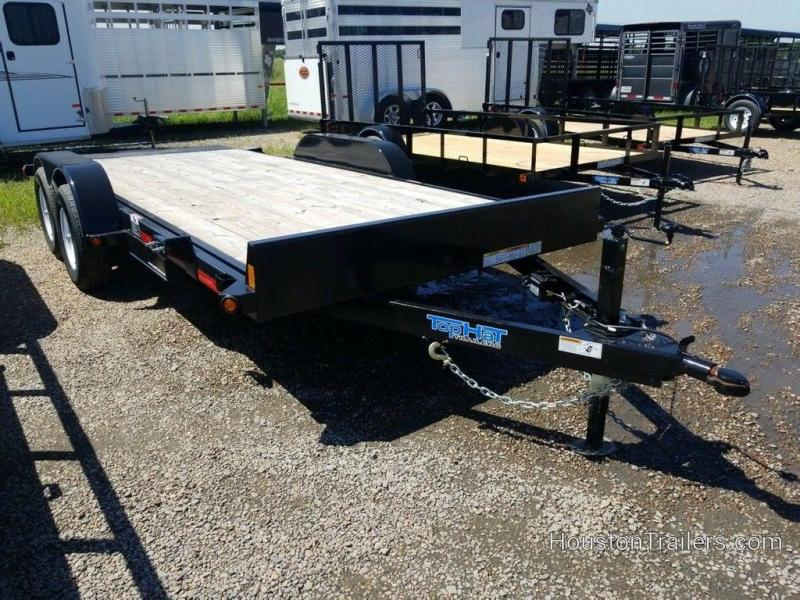 "2019 Top Hat 83"" x 18' Manual Tilt Deck Car Hauler TH-192"