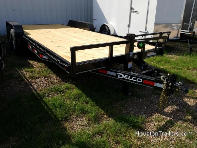2020 Delco Trailers 20' EH 14K Equipment Trailer