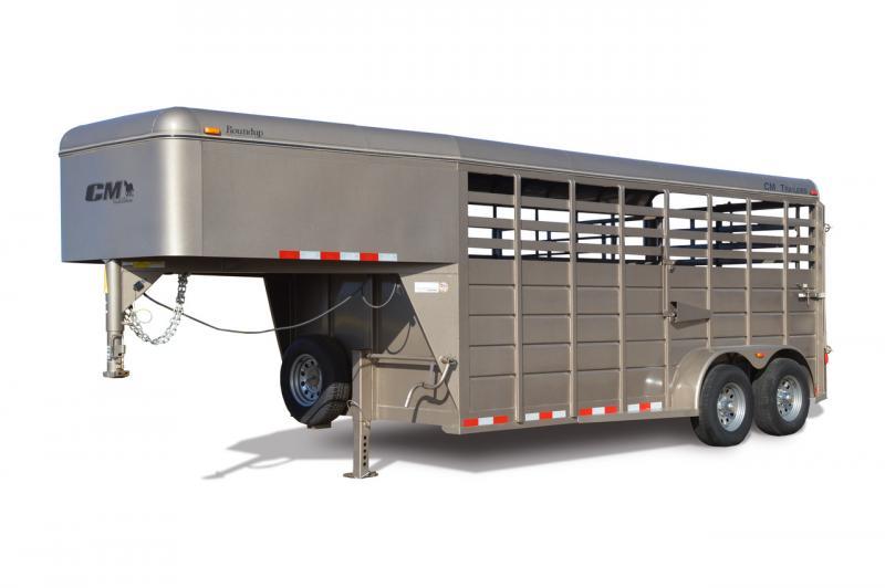 2020 CM Roundup GN Livestock Trailer