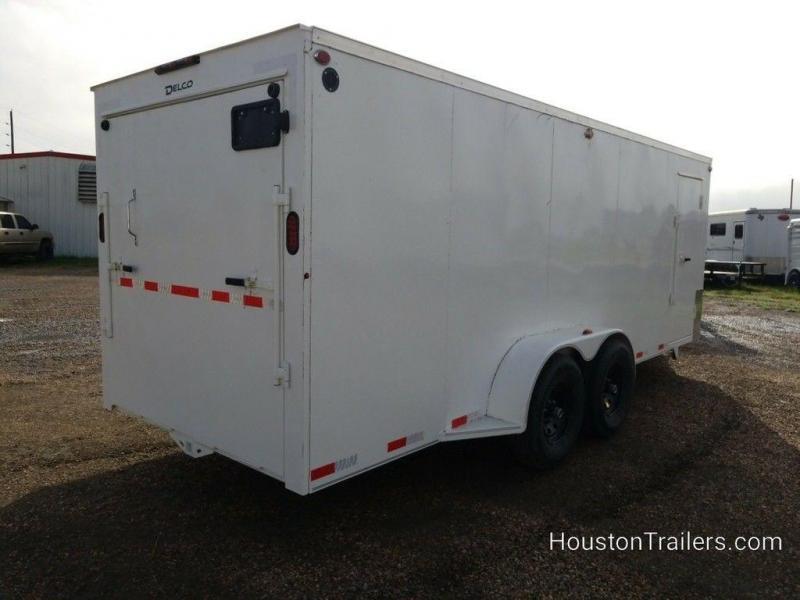 "2019 Delco Trailers 20' x 6'8"" Enclosed Cargo Trailer DEL-76"