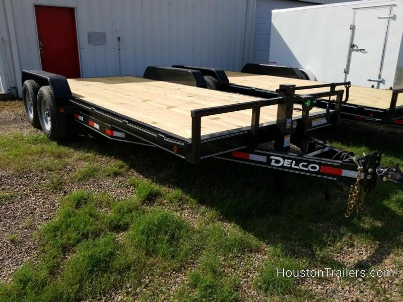 2020 Delco Trailers 18' EH 10K Equipment Trailer