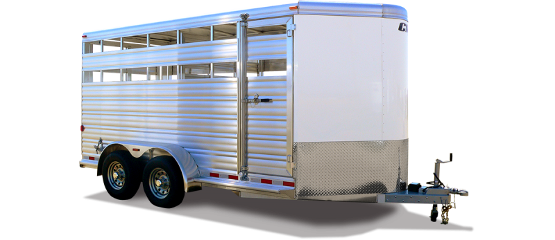 2020 CM 16' Stocker-ALV Livestock Trailer