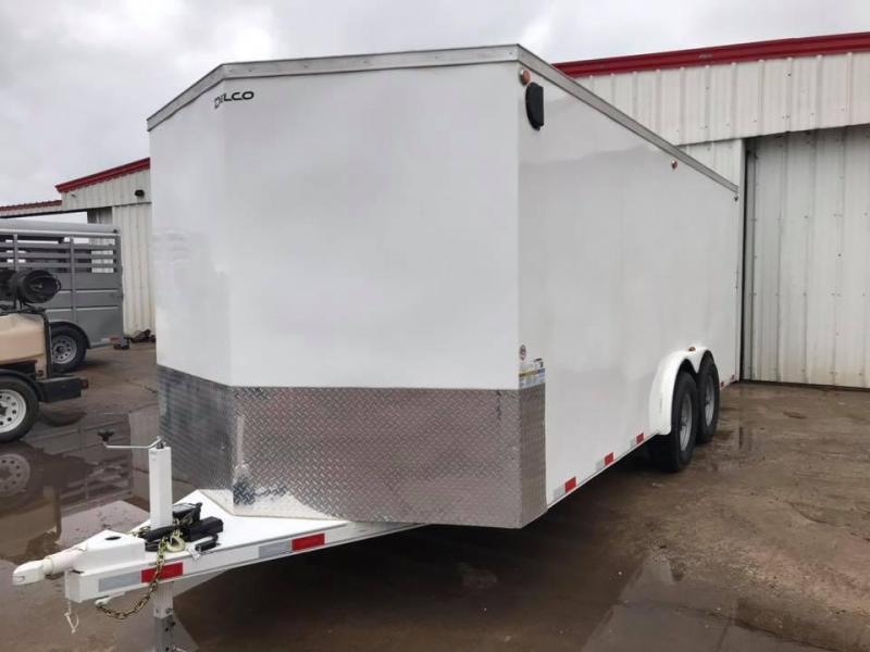 2020 Delco Trailers 18' x 8' Enclosed Cargo 14k Enclosed Cargo Trailer