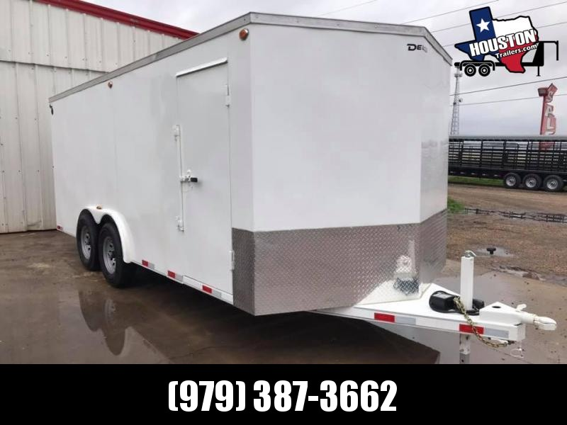 2020 Delco Trailers 18' x 8' Enclosed Cargo 14k Enclosed Cargo Trailer
