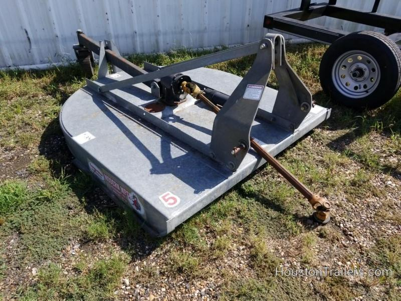 5' Galvanized Modern Brand Shredder / Rotary Mower for 3pt.
