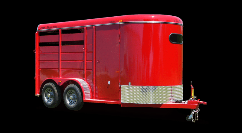 2020 CM 2 & 3 Horse Dakota Horse Trailer
