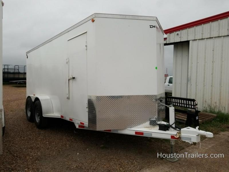 "2020 Delco Trailers 14K 16' x 6'8"" Enclosed Cargo Trailer DEL-100"