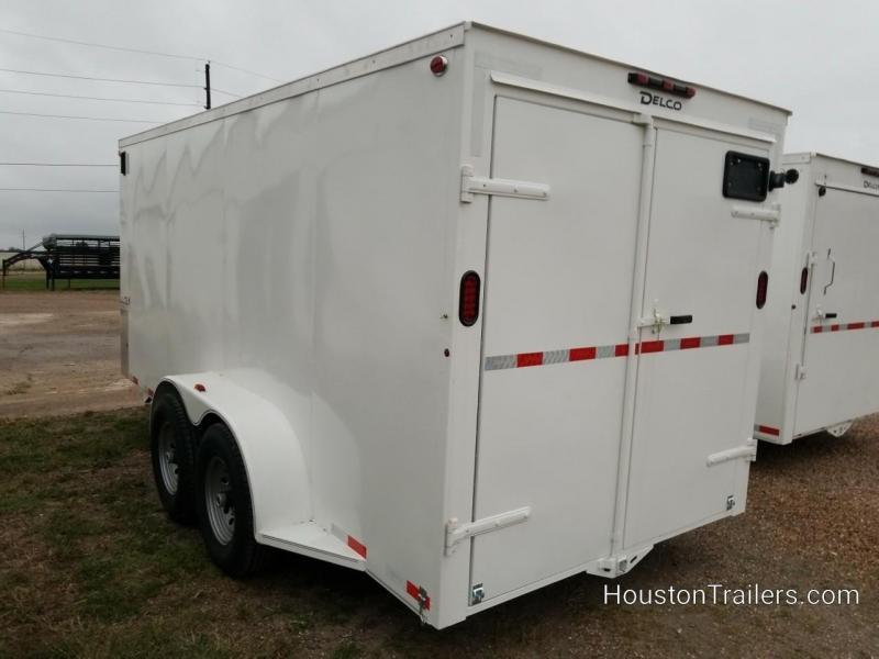"2020 Delco Trailers 16' x 6'8"" Enclosed Cargo Trailer DEL-100"