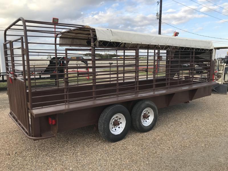 1995 Homemade 20' GN Livestock 14k Livestock Trailer