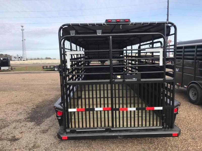 2020 Delco Trailers 20' Livestock GN 14k Livestock Trailer
