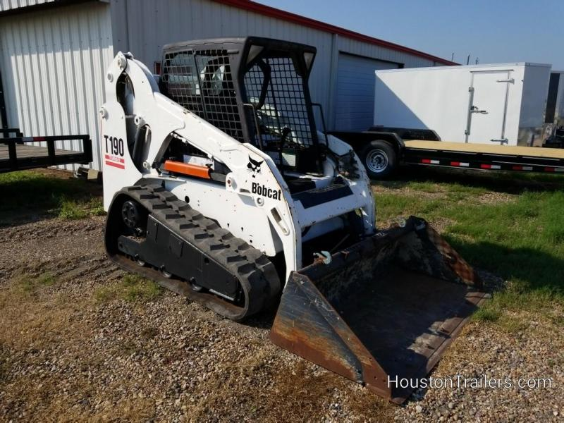 2004 Bobcat T190 Track Loader Skid Steer