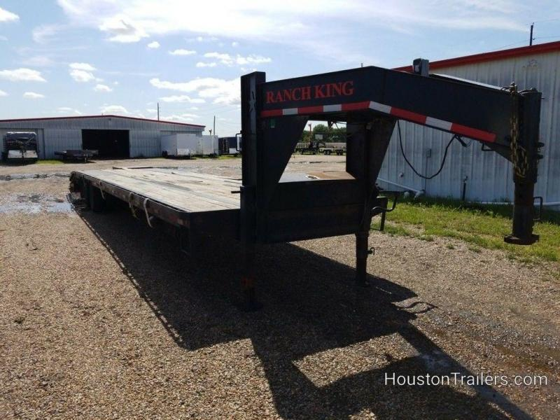 2016 Ranch King 40 ft Hotshot Trailer w/ Monster Ramps CO-1073