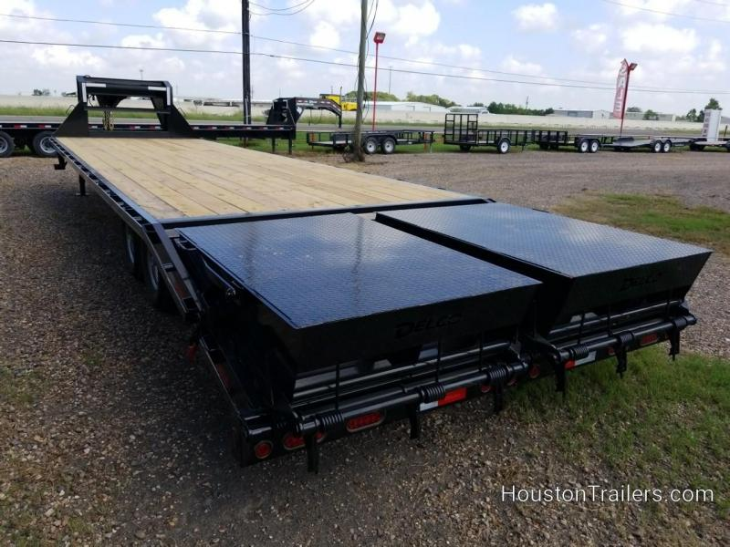 2020 Delco Trailers 25 + 5 Flatbed 14k Flatbed Trailer