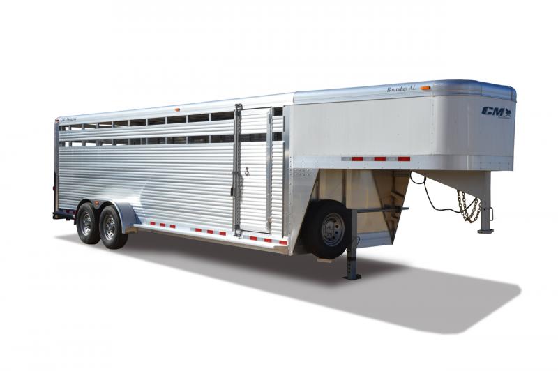 2020 CM Roundup AL GN Livestock Trailer